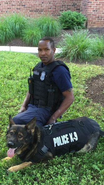 3 Annapolis PD K-9s receive kevlar vests